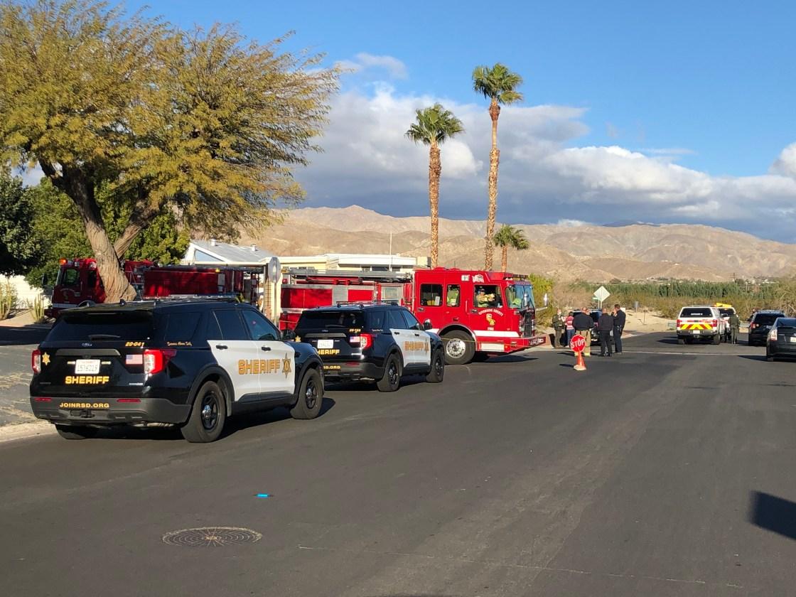 Bomb Squad investigates possible explosive device in Desert Hot Springs neighborhood