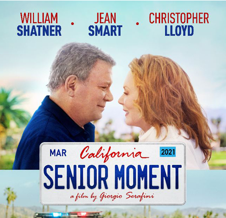 """""""Senior Moment"""" Director on William Shatner and Shooting in Palm Springs"""