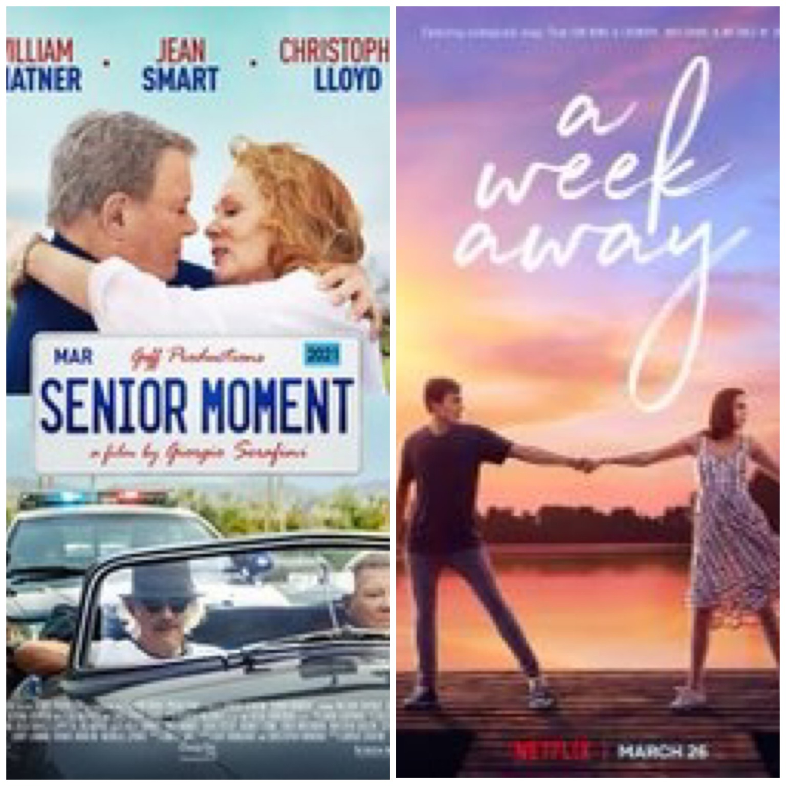 """Manny the Movie Guy Reviews """"Senior Moment"""" & """"A Week Away"""""""