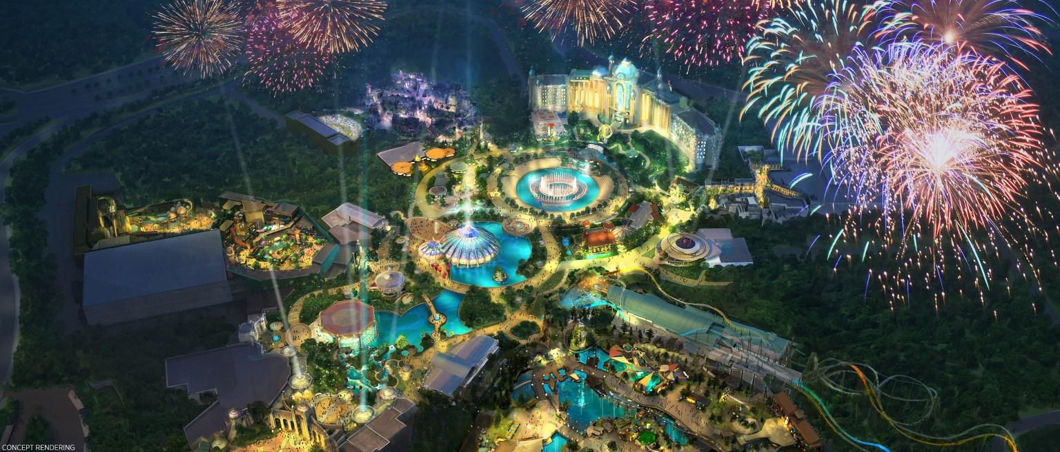 "Construction resumes on Universal Orlando's ""Epic Universe"""