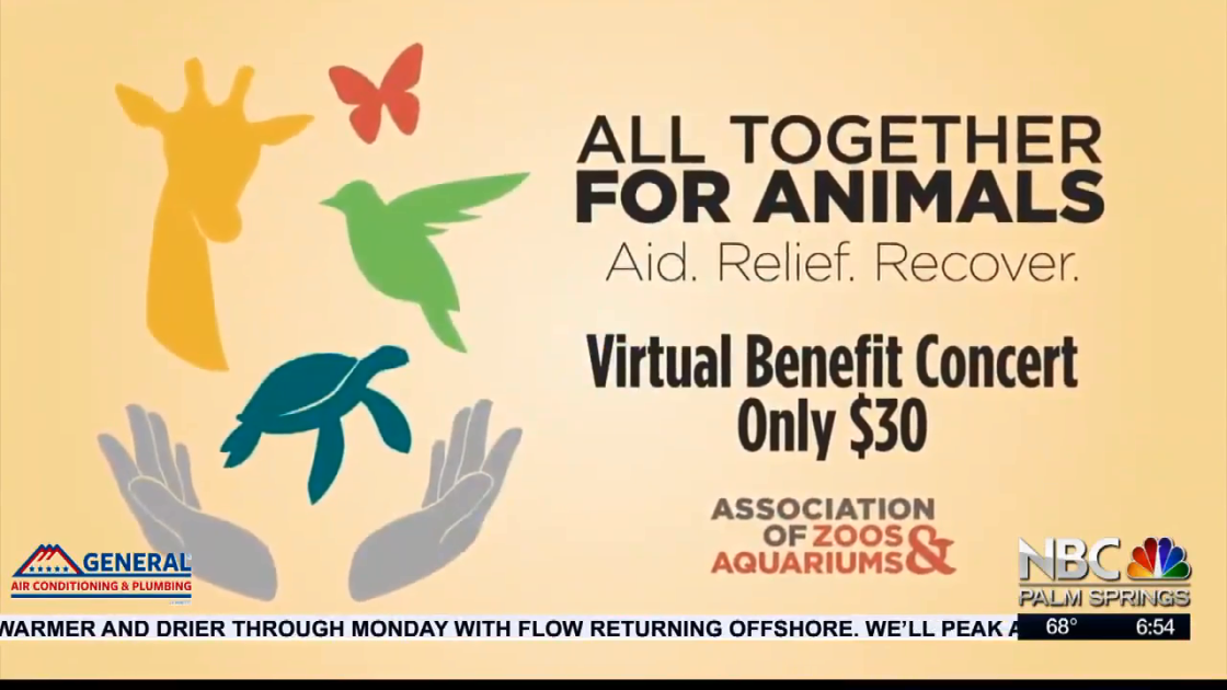 NBCares Silver Linings The Living Desert's Virtual Benefit Concert