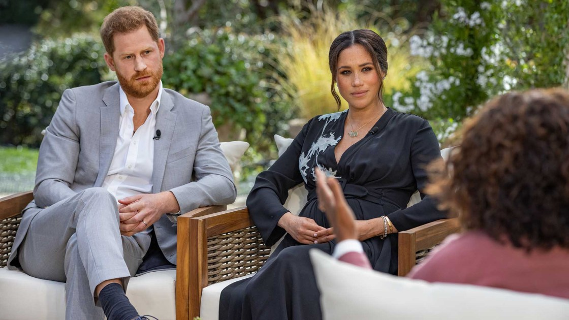 Oprah's interview with Meghan and Harry drew 17 million viewers