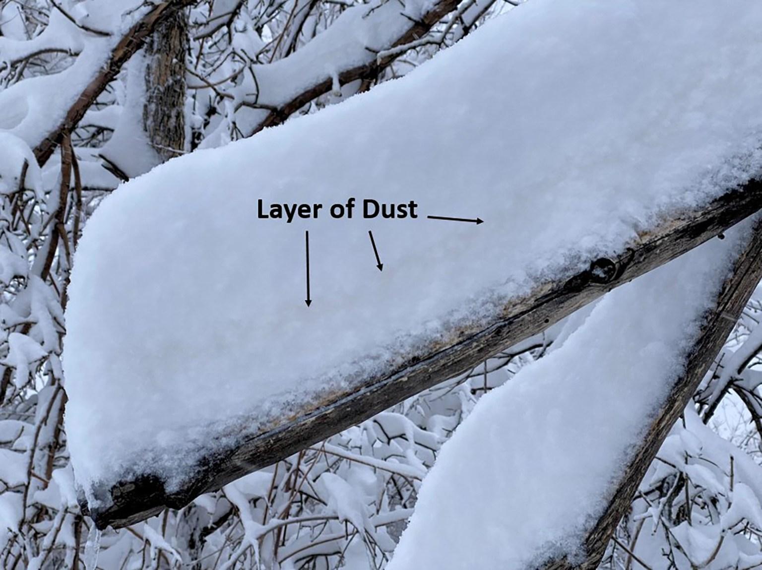 Mexican dust found in Colorado blizzard