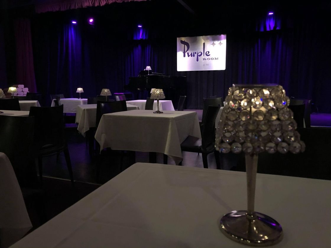 Fundraiser aims to save The Purple Room as entertainment restrictions linger
