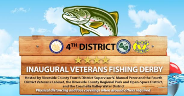 Inaugural Veterans Fishing Derby happening Saturday in La Quinta