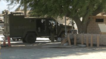 Standoff ends at Coachella home
