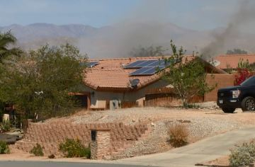 Three People Displaced Following Desert Hot Springs House Fire