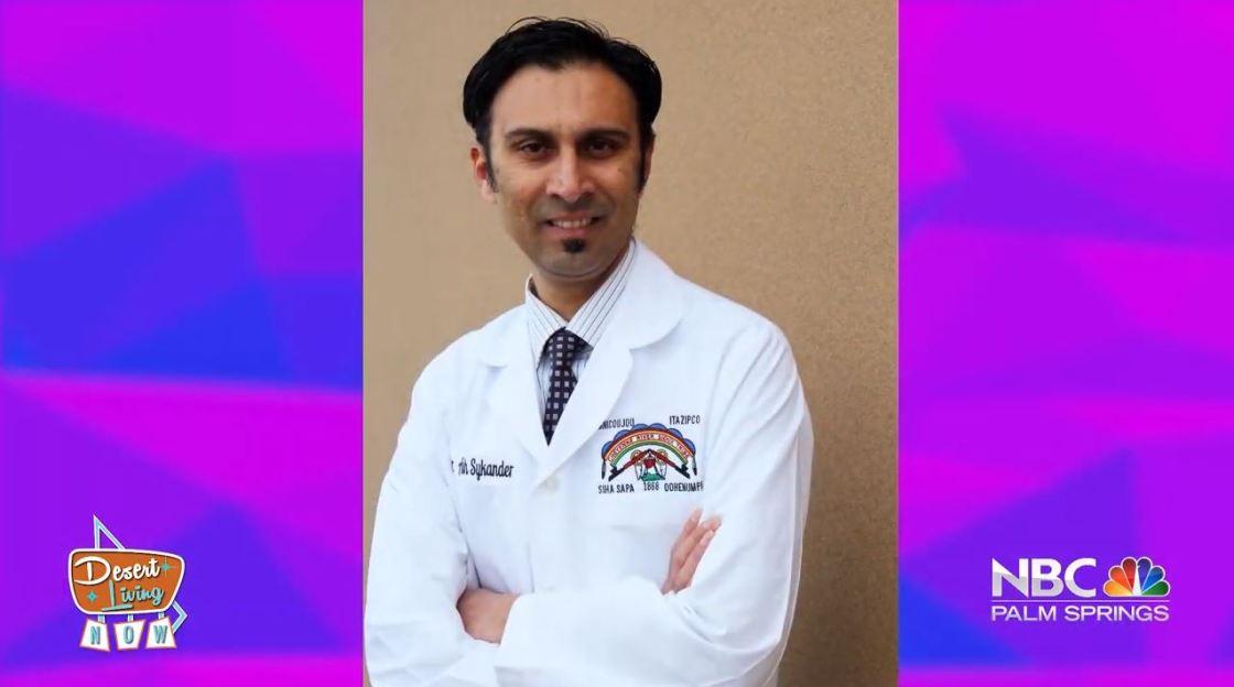 Desert Living Now: Dr. Ashyk Sykander