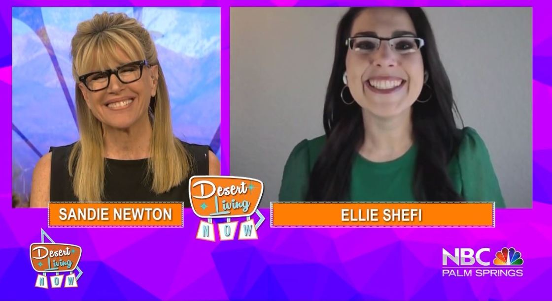 Desert Living Now: Best Selling Author, Ellie Shefi
