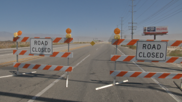 All roads across the Whitewater wash reopened