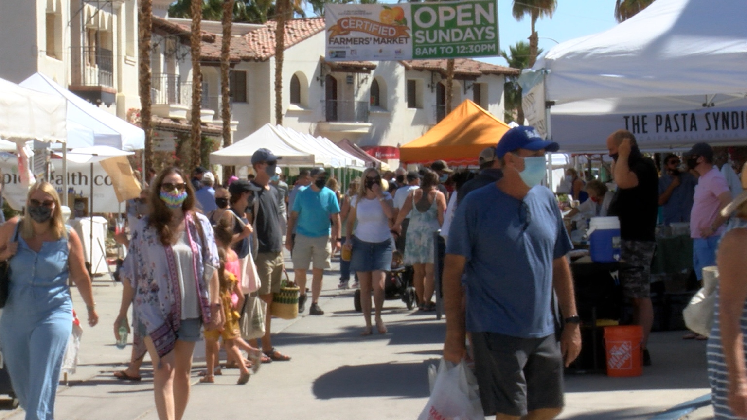 Farmers Market Vendors Prepare For Triple Digit Heat