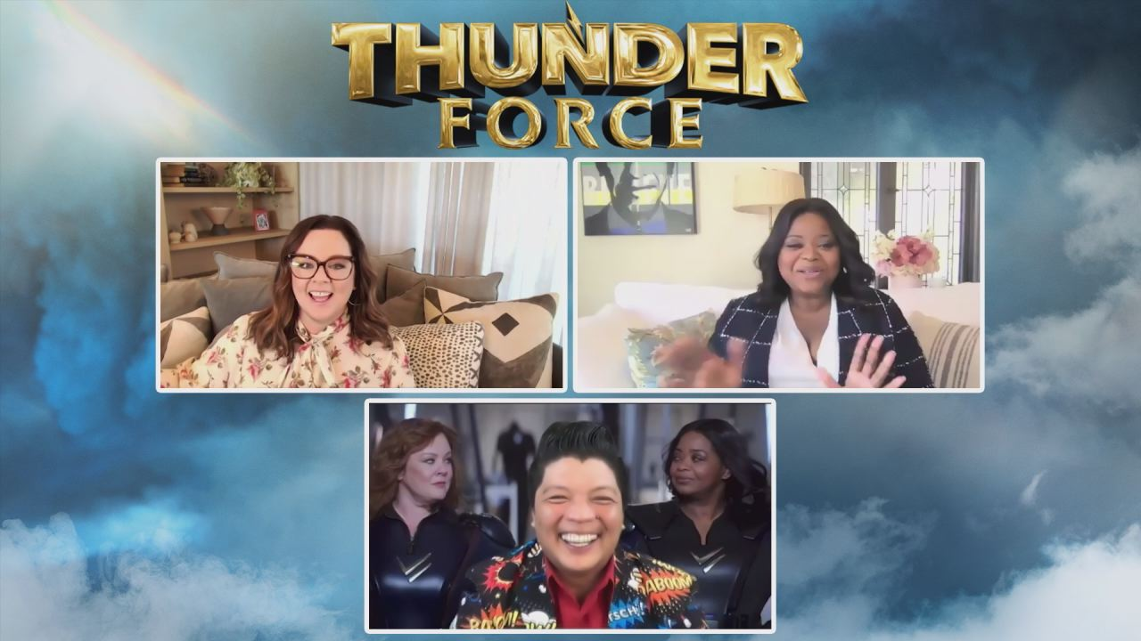"""Superhero Interview:  Melissa McCarthy and Octavia Spencer on """"Thunder Force"""""""