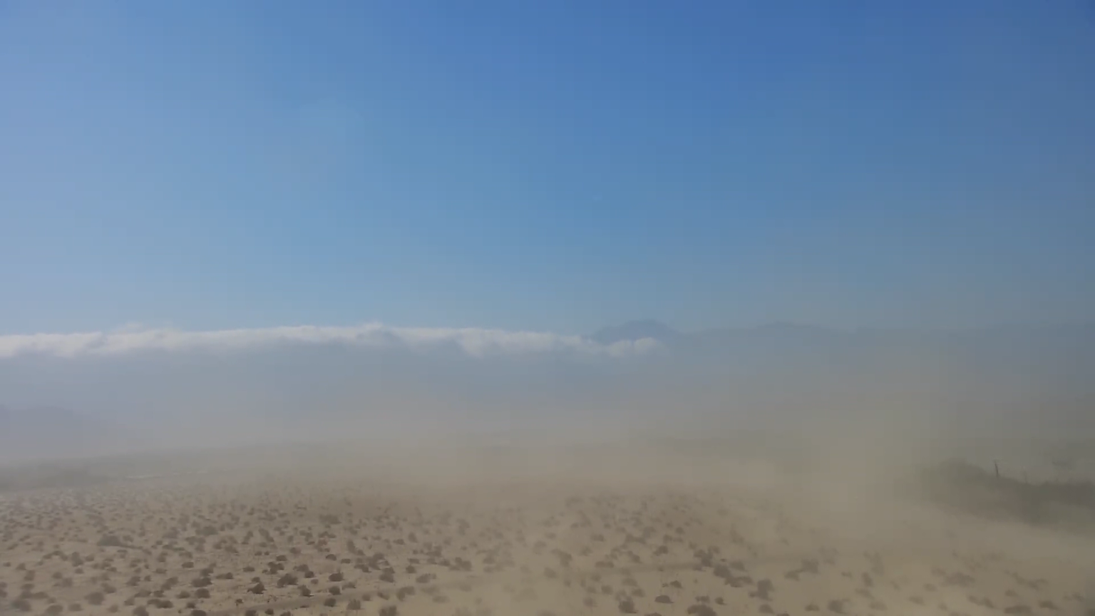 Forecast of Strong Winds in Eastern Riverside County Prompts Dust Advisory