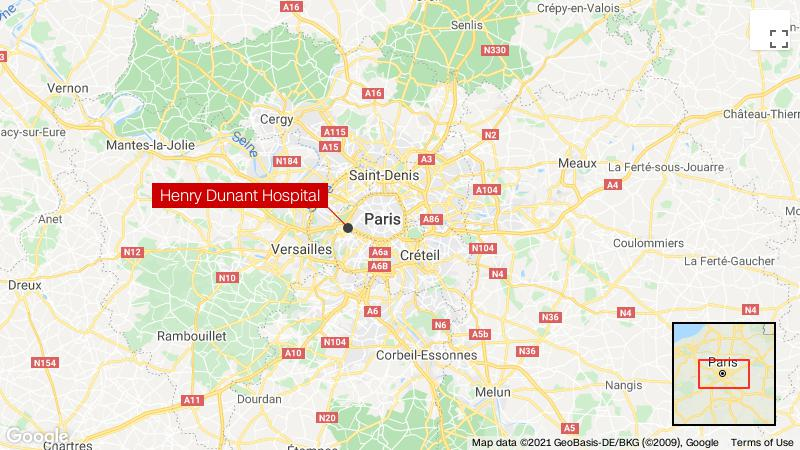One killed, one injured following shooting in front of Paris hospital