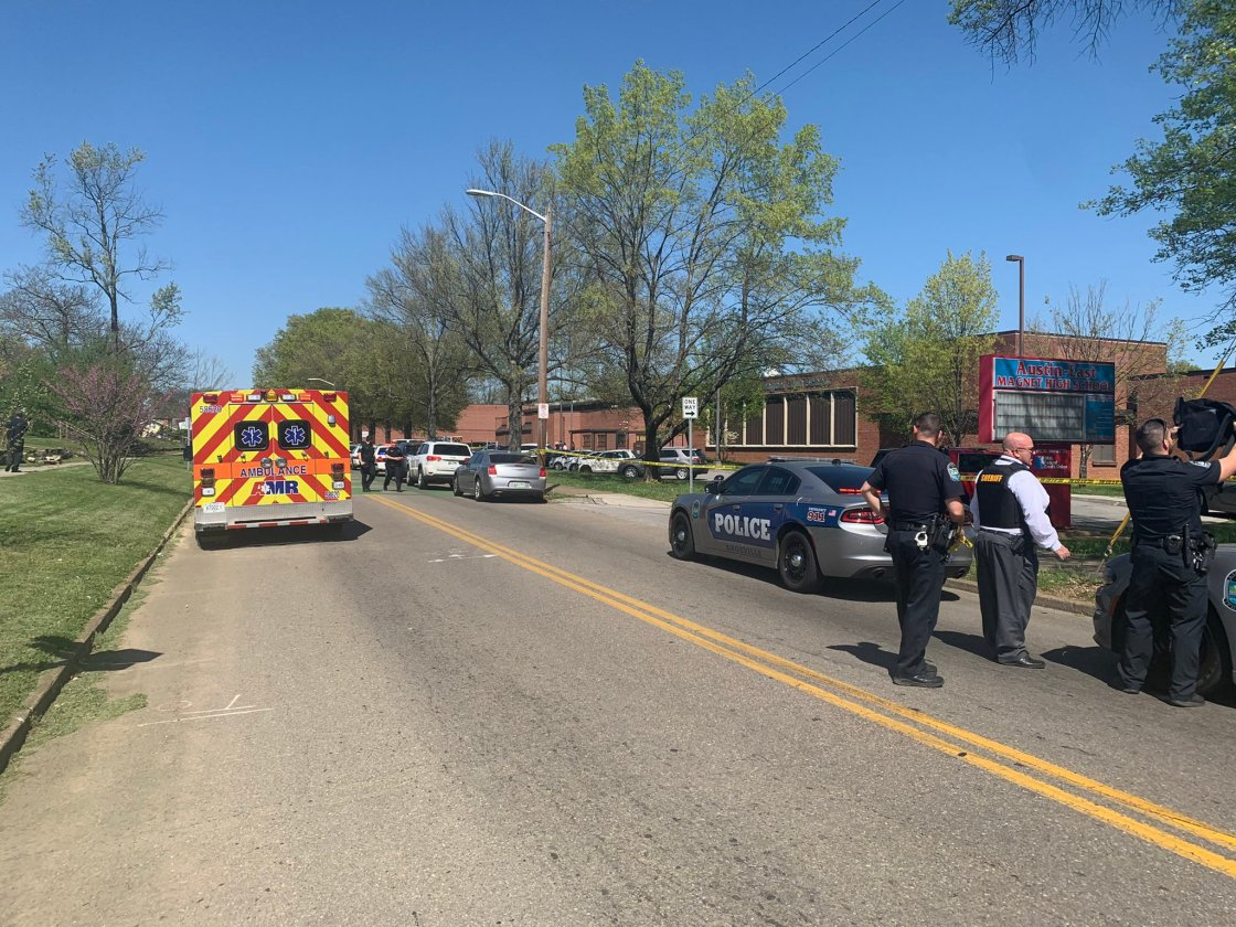 Active investigation following shooting at a high school in Knoxville