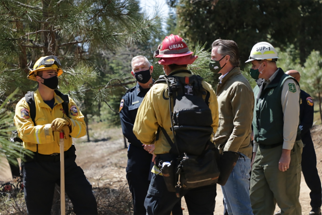 Gov. Newsom launches $536 million funding package to boost fire prevention projects