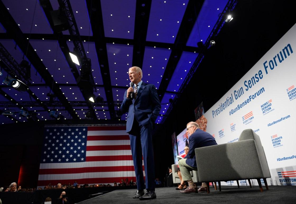 Biden announces limited gun restrictions as pressure rises following mass shootings