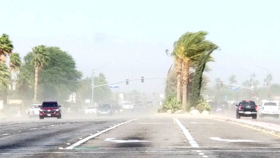 Gusty winds expected through Friday for Coachella Valley