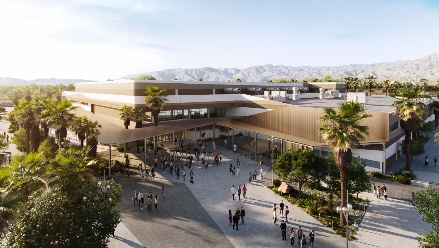 Coachella Valley Arena breaks ground Wednesday afternoon