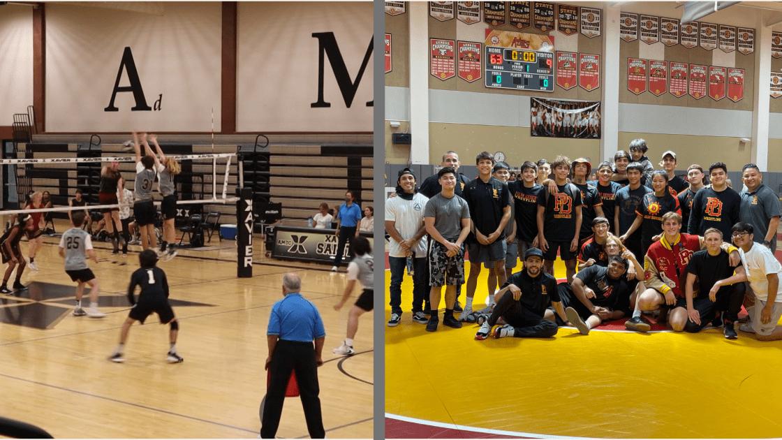 Xavier Prep Boys Volleyball Makes Playoff History & Palm Desert Boys' Wrestling Dominates in First Round of CIF-SS Playoffs