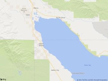 Blaze Extinguished near Salton Sea, Scorches 17 Acres