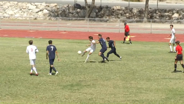 Desert Boys' Soccer Sweeps in First Round of CIF Playoffs