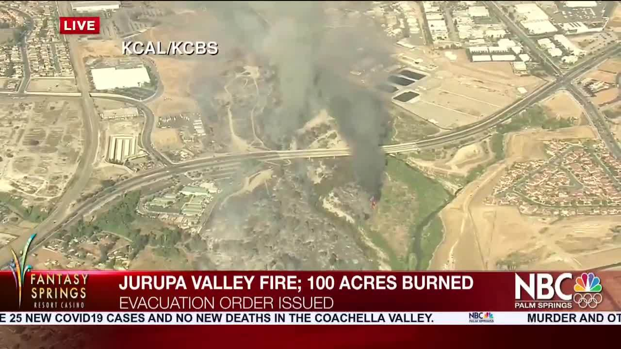 Fire in Santa Ana River Bottom Now Fully Contained