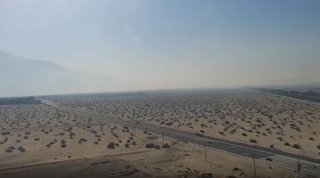 Smoke lingers in the Valley due to three different fires