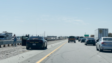 Three-vehicle wreck snarls I-10 traffic near Thousand Palms