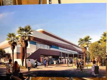 Crews break ground on Coachella Valley Arena two years after initial proposal