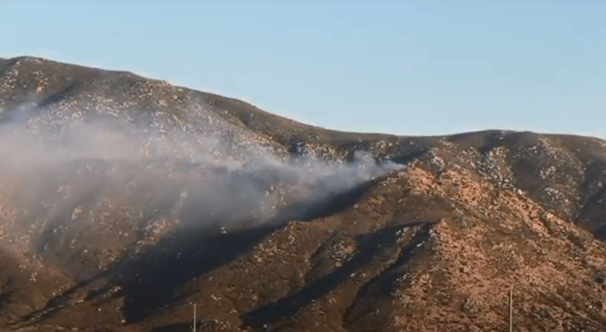 Brush Fire Burns 75 Acres in Banning, 20% Contained