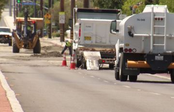 Illegal U-Turn Leads to Fire Hydrant Sinkhole in Cathedral City