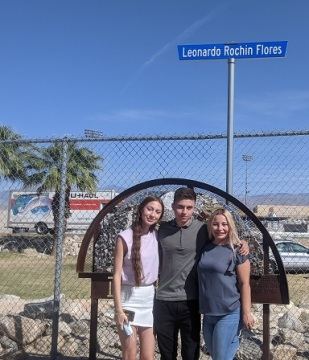 Valedictorian Honored with Street Renaming at Desert Hot Springs High School