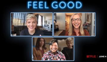 "Something to Make You ""Feel Good"" – Mae Martin and Lisa Kudrow Talk About Netflix Show"