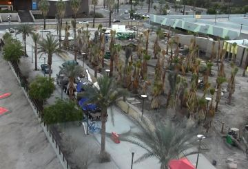 Fire Reported at `Forever Marilyn' in Downtown Palm Springs