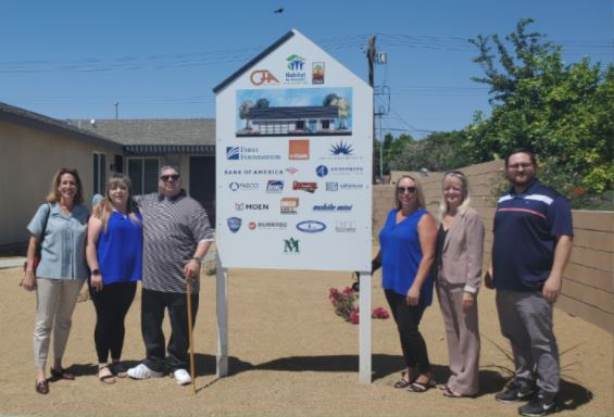 Habitat for Humanity dedicated two new homes in Indio