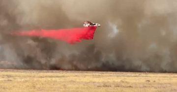 Over 100 acres burning near Hemet