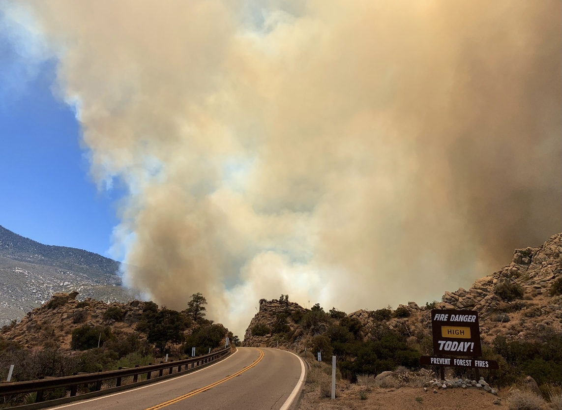 400-Acre Pinyon Pines Wildfire Now 85% Contained