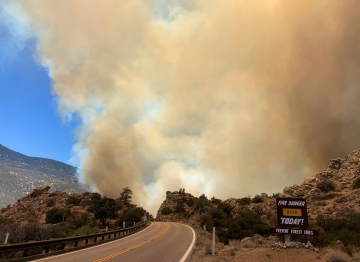 400-Acre Pinyon Pines Wildfire Now 60% Contained