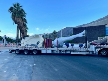 Installation to Begin Erecting `Forever Marilyn' Statue in Palm Springs