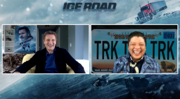 """Liam Neeson Talks """"The Ice Road"""" with Manny the Movie Guy"""