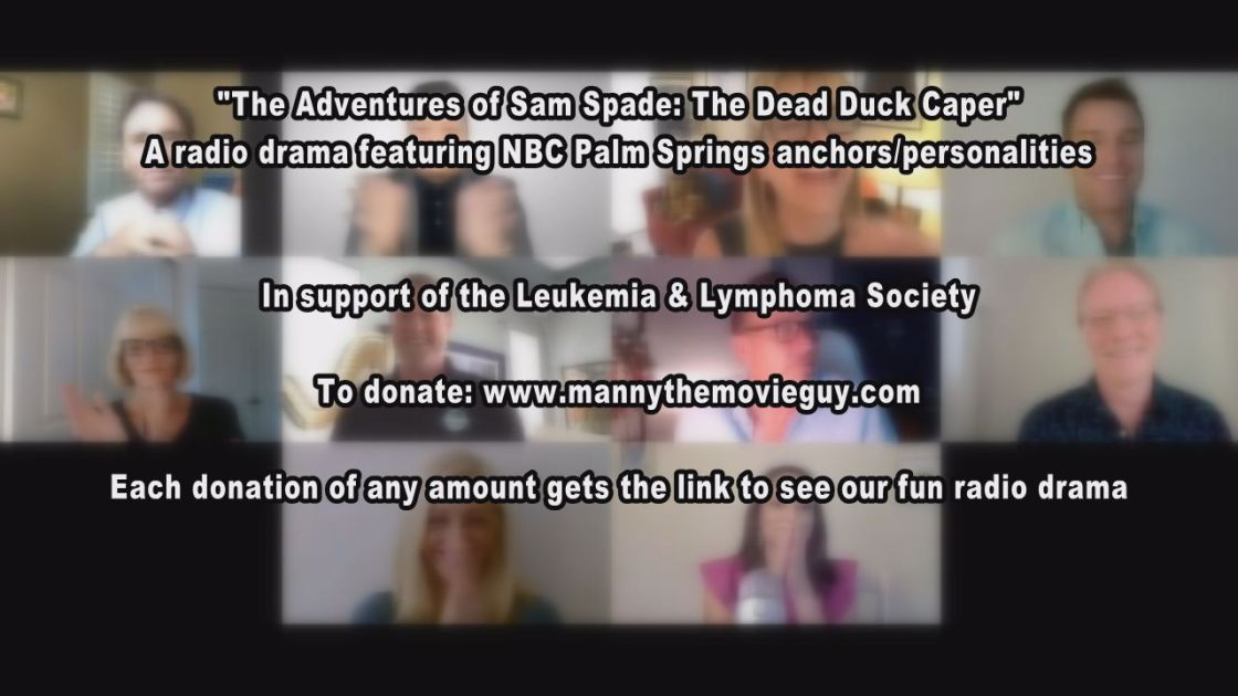 """NBC Palm Springs Anchors Perform Radio Drama """"The Adventures of Sam Spade: The Dead Duck Caper"""" for a Good Cause"""