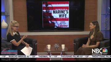 "NBCares Silver Lining Sadie Calvano ""Secrets of a Marine's Wife"""