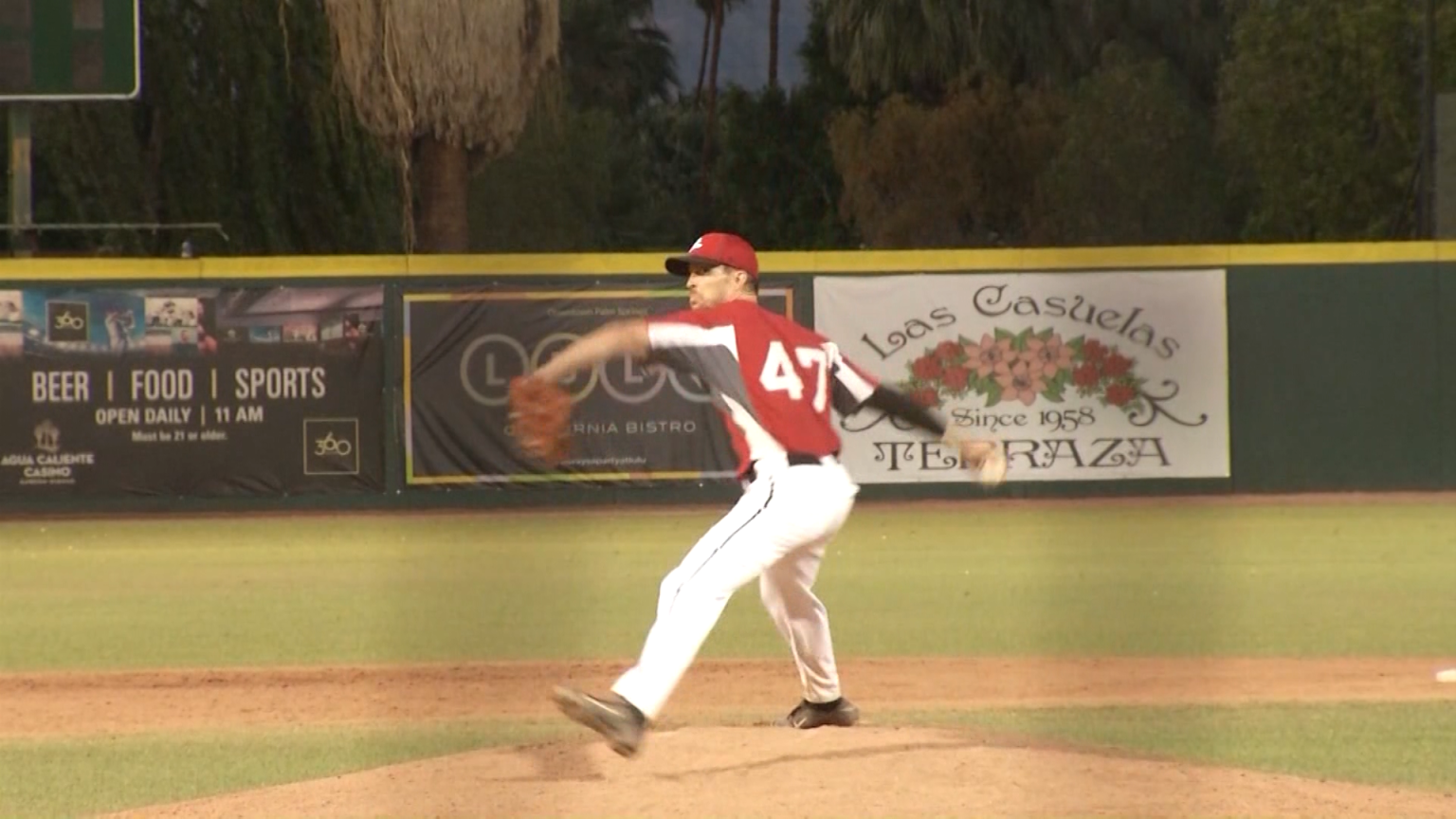 30-year-old Palm Springs Power pitcher hopeful to make it back to the majors