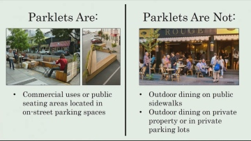 Palm Spring City Council To Make Decision On Parklets In Coming Months