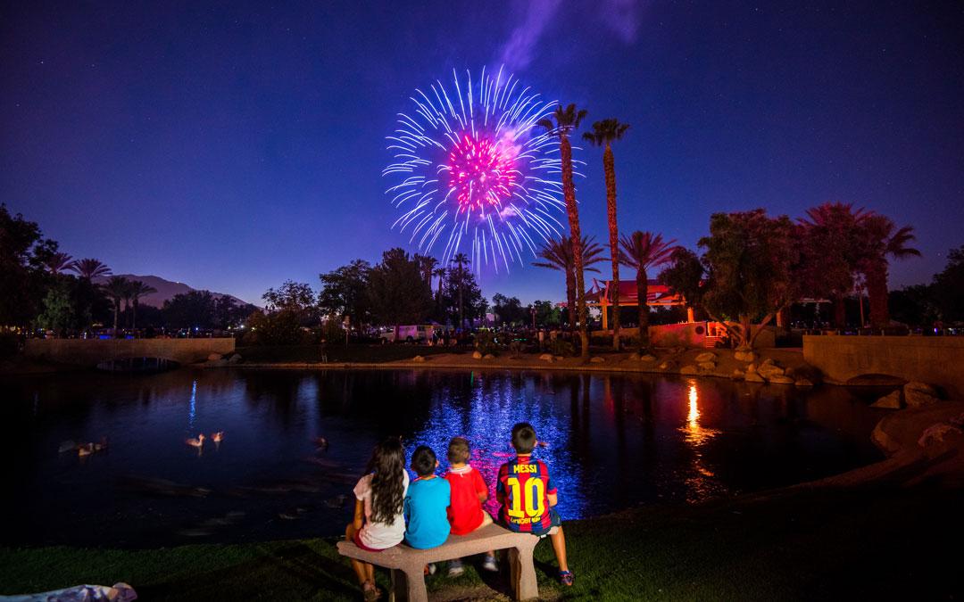 City of Palm Desert hosting 4th of July fireworks