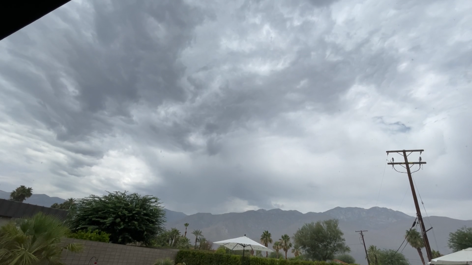 Palm Springs Records First Rain on June 23 Since at Least 1893