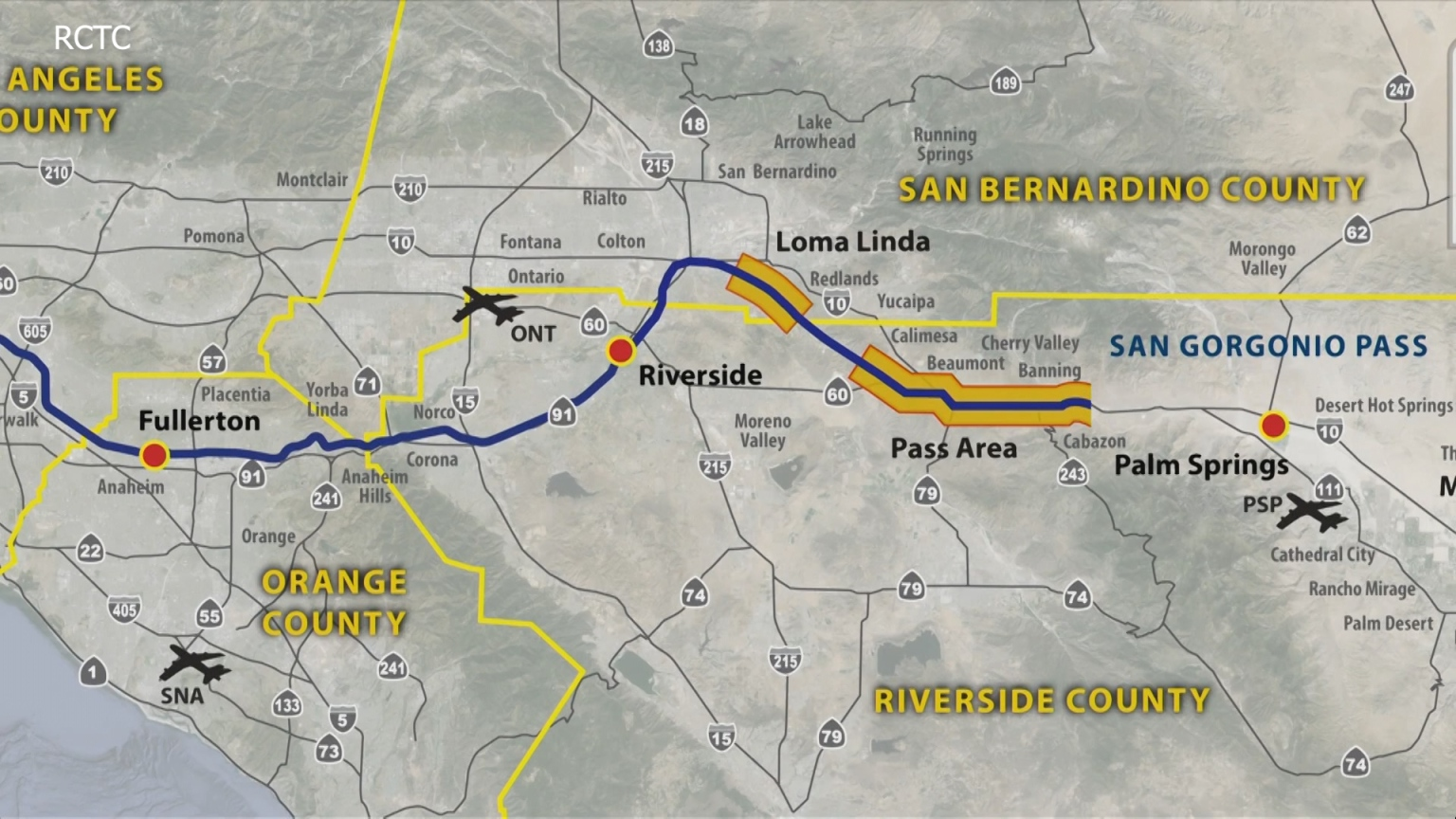 Coachella Valley Rail Project; Another Possible Option For Travel