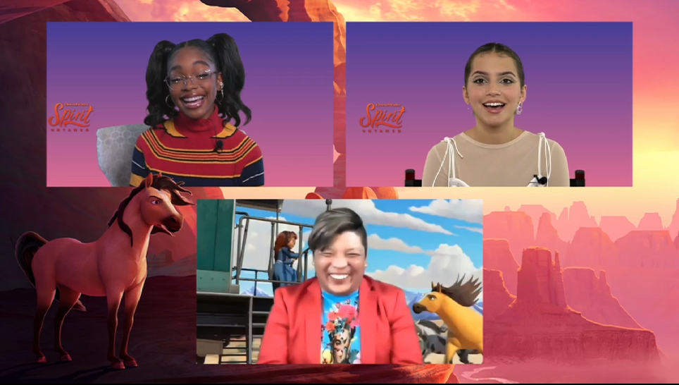 """""""Spirit Untamed"""" Interview: Isabela Merced and Marsai Martin on Making the Fun Family Film"""