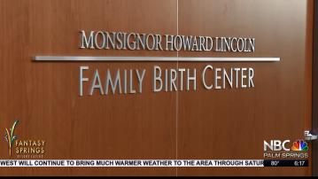 Eisenhower Medical Opens Family Birth Center